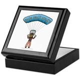 Dark Sky Diver Keepsake Box