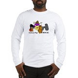 Guinea Pigs Rock! Long Sleeve T-Shirt