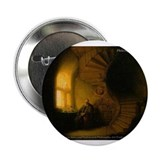 "Rembrandt van Rijn Painting 2.25"" Button (10 pack)"