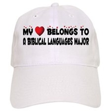 Belongs To A Biblical Languages Major Baseball Cap