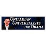 Unitarian Universalists for Obama sticker