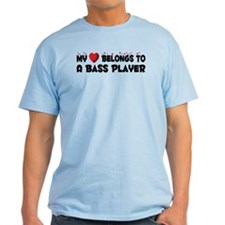 Belongs To A Bass Player T-Shirt