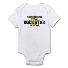 Didgeridoo Player Rock Star Infant Bodysuit