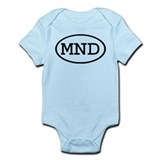 MND Oval Infant Bodysuit