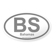 BS Bahamas Oval Decal