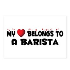 Belongs To A Barista Postcards (Package of 8)
