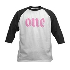 ONE birthday girl pink Tee