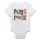 Pugs Rock Onesie