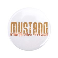 "Mustang Horse 3.5"" Button (100 pack)"