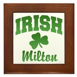 Milton Irish Framed Tile