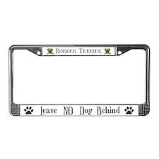 Border Terrier Home License Plate Frame
