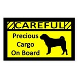 Precious Cargo Shar-Pei Rectangle Decal