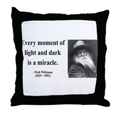 Walter Whitman 8 Throw Pillow