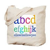 abcdefghijk ellowmellowpee Tote Bag