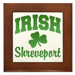 Shreveport Irish Framed Tile
