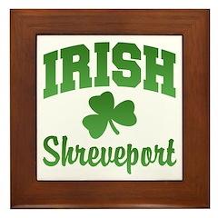 Shreveport Irish Framed Tile