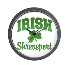 Shreveport Irish Wall Clock