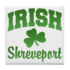 Shreveport Irish Tile Coaster