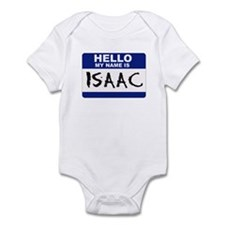 Hello My Name Is Isaac - Infant Creeper