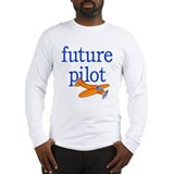 future pilot Long Sleeve T-Shirt