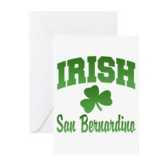 San Benardino Irish Greeting Cards (Pk of 20)