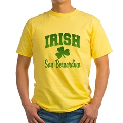 San Benardino Irish Yellow T-Shirt