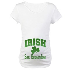 San Benardino Irish Maternity T-Shirt