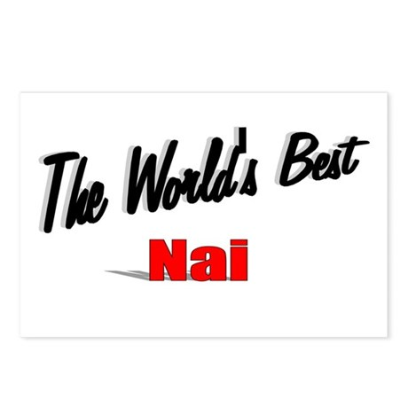 """The World's Best Nai"" Postcards (Package of 8)"
