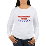 Retired Law Enforcement Officer Women's Long Sleev
