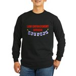 Retired Law Enforcement Officer Long Sleeve Dark T