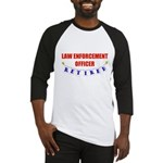 Retired Law Enforcement Officer Baseball Jersey