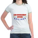 Retired Law Enforcement Officer Jr. Ringer T-Shirt
