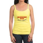 Retired Law Enforcement Officer Jr. Spaghetti Tank