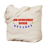 Retired Law Enforcement Officer Tote Bag