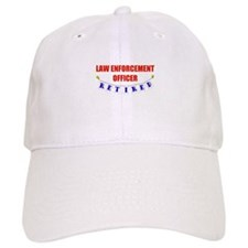 Retired Law Enforcement Officer Baseball Cap