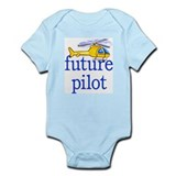 future helicopter pilot Infant Bodysuit