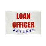Retired Loan Officer Rectangle Magnet (10 pack)