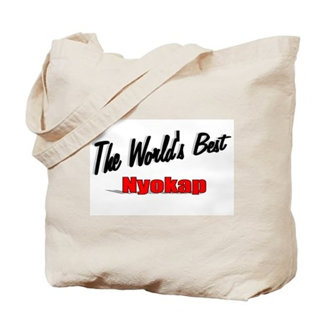 """The World's Best Nyokap"" Tote Bag"