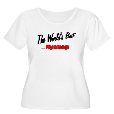 """The World's Best Nyokap"" Women's Plus Size Scoop"