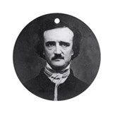 Edgar Allan Poe Ornament (Round)