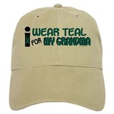I Wear Teal For My Grandma 7.1 Baseball Cap
