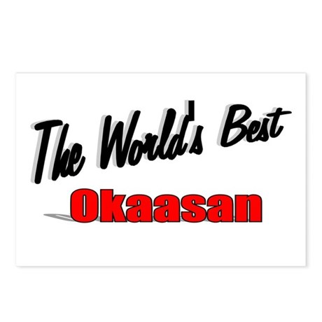 """The World's Best Okaasan"" Postcards (Package of 8"