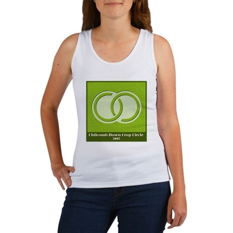 Chilcomb Down Crop Circle Women's Tank Top