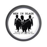 Men In Black 6 Wall Clock