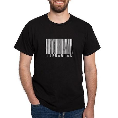 Librarian Barcode Dark T-Shirt