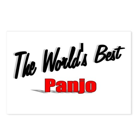 &quot;The World's Best Panjo&quot; Postcards (Package of 8)