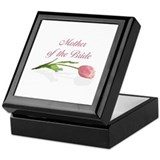 Pink Tulip Mother of Bride Keepsake Box