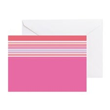 RetroPinkAbstract Note Cards (Pk of 10)