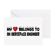 Belongs To An Aerospace Engineer Greeting Card