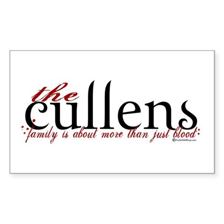 The Cullens Rectangle Sticker